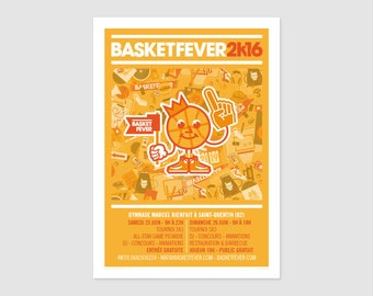 Print - Poster Basketfever 2K16