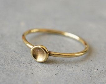 Women gold ring band, delicate ring, 14k gold simple ring, wedding ring, engagement ring, stackable rings, minimalist ring, solid gold ring