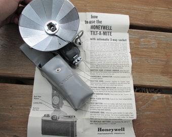 Honeywell Tilt-A-Mite Pocket Size Camera Flash