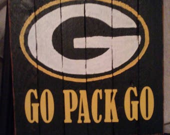 Packer Man Cave Signs : Green bay packers bedroom wood sign established