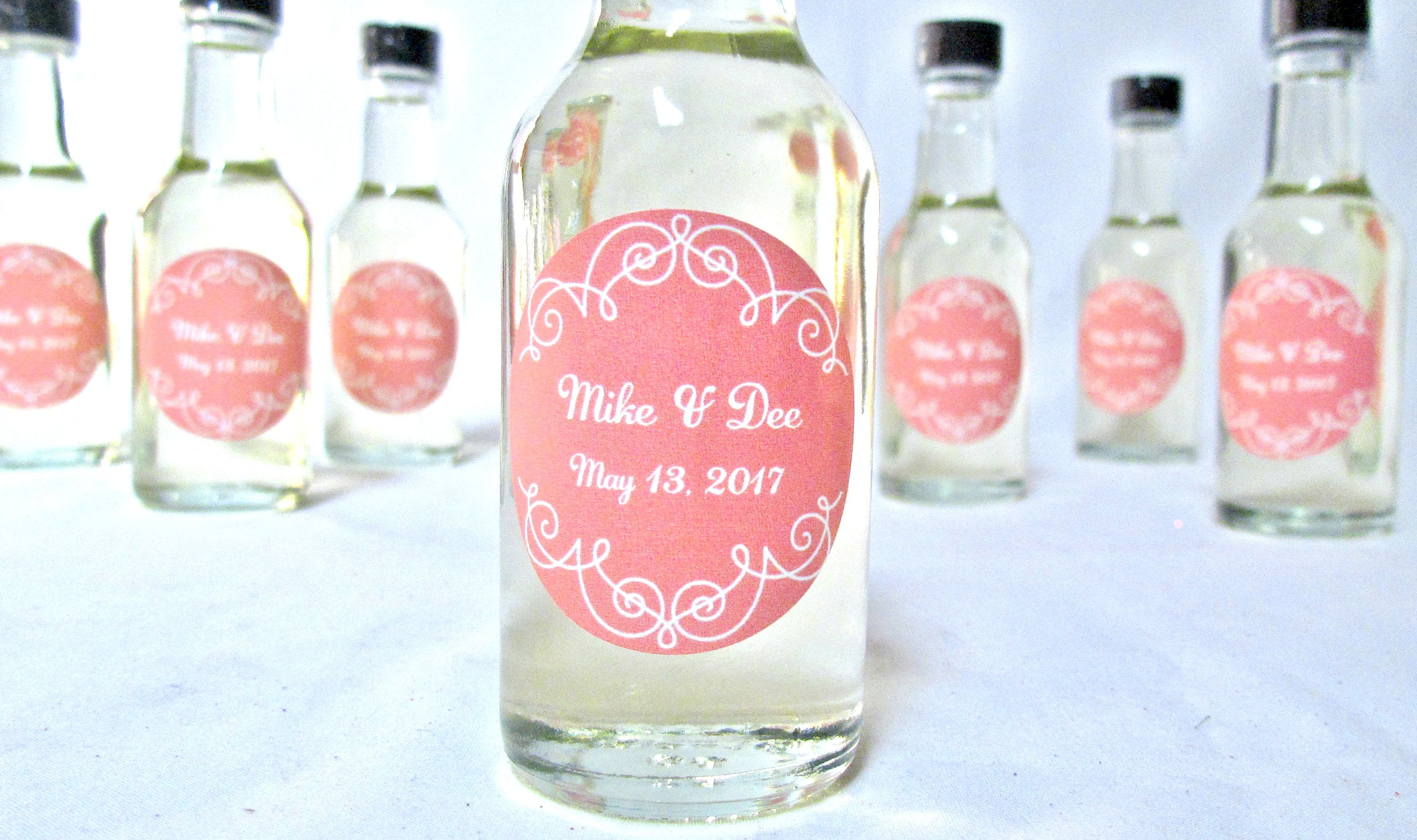 Italian Extra Virgin Olive Oil Wedding favors. Shower