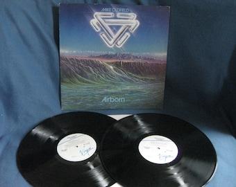 "Vintage, Mike Oldfield ""Airborn"", Vinyl 2 LP Set, Record Album, Original 1980 Press, Classic Rock, Tubular Bells"