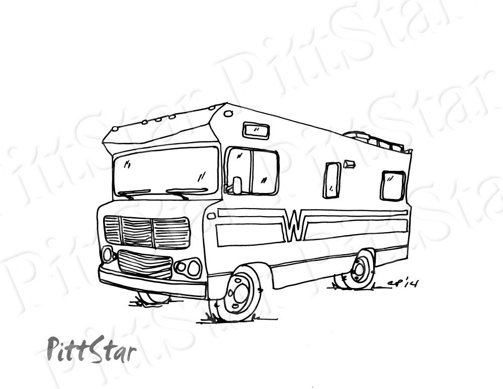 List Of Synonyms And Antonyms Of The Word Motorhome Drawing
