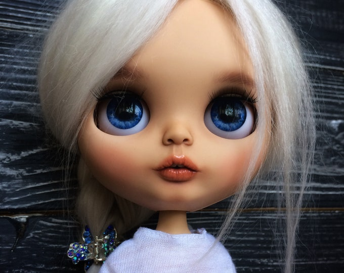 BLYTHE Doll Reroot Blythe Custom blythe doll Custom blythe Ooak blythe doll Blythe outfit TBL blythe Blythe doll clothes