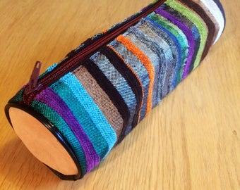 Beautiful handmade Moroccan pencil case/ makeup bag