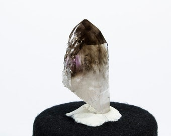 Brandberg Quartz Crystal with Smokey Phantoms and Frost