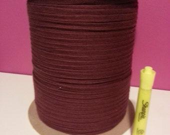 READY to Ship - Burgundy Wine Drawcord - Drawstring - Fat Shoelace - Braided cord - One Yard