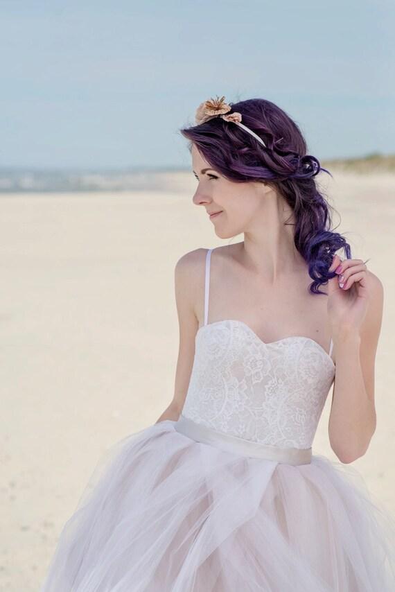 Cate bridal corset / bridal lace corset / lace corset top /