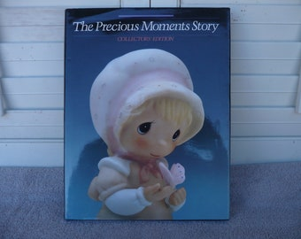 Book , The Precious Moments Story ( Collectors' Edition )