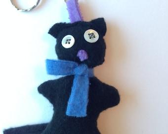 Custom made Cat Keychain