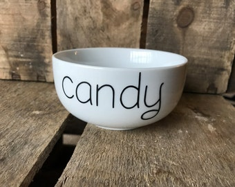 Candy Bowl, Candy Dish