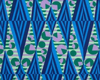 Amy Butler Hapi Glow Sapphire Fabric by 1 yard