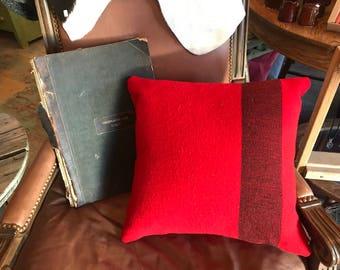 Hudson Bay Wool Blanket Pillow