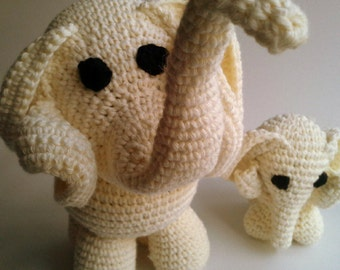Elephant amigurumi - knitted toys