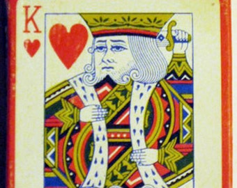 "KYLIN .99-565 ""Dead King"" deck of poker playing cards"