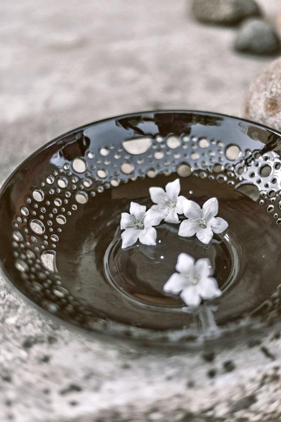 Schwarz Früchte Servieren Schüssel Keramik Schale Keramik