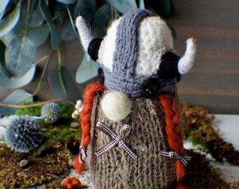 Interior Gnome, Scandinavian Gnome,Viking Gnome, Nordic Gnome, Forest Gnome, Christmas Gnome, Elf Doll, Woodland Gnome, home decor