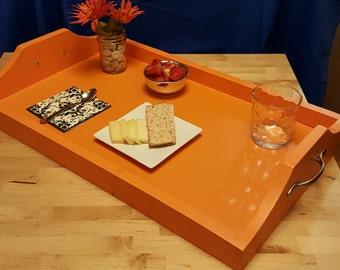 Custom handmade Serving Tray, breakfast tray, centerpiece