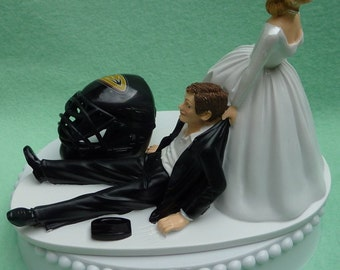 wedding cake toppers dallas tx wedding cake topper dallas cowboys football themed w garter 26447