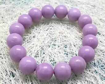 Genuine Phosphosiderite Bracelet 10MM AA+ Grade, Natural Phosphosiderite Beads, Real Phosphosiderite Jewelry
