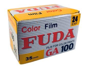 FUDA Color 100 35mm film expired