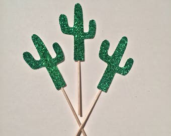Cactus Cupcake Topper