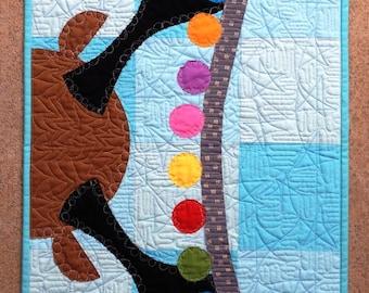 Vixen :) festive quiltlet pattern