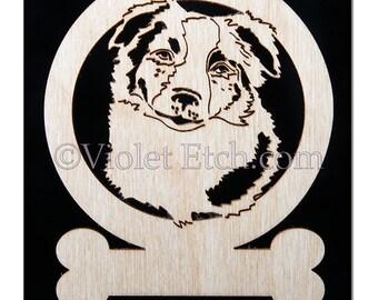Border Collie Ornament-Border Collie Gift-Free Personalization