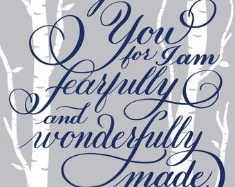 Psalm 139:4 - Printable Download