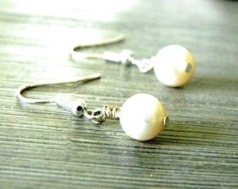 Freshwater Pearl Earrings Dangle Earrings