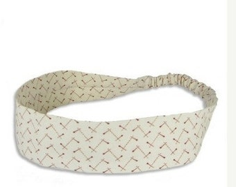 """Fabric Headband - Pick Up Sticks - Pick your size - fit toddlers to adults - 1-1/2"""" wide"""