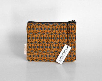 SANT CARLES purse, traditional fabric case,