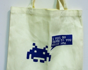 Personal Space Invader Tote