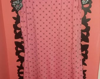 A light pink night gown
