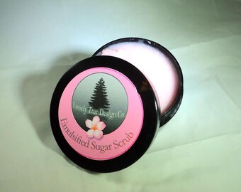 Japanese Cherry Blossom - Face & Body Sugar Scrub - Emulsified