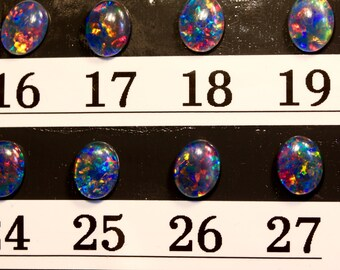 10x8mm Top Gem Grade Australian Opal Triplets.Choose your Opal Triplet to go with setting from AmyKJewels Jewelry ONLY. Not sold separately.