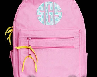 Monogrammed Backpack, Personalized Backpack, Girls Backpack, Custom Backpack, Custom Girls Backpack