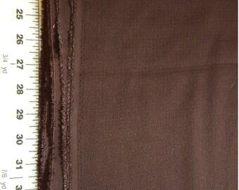 Vintage Barkcloth Dark Brown 3yd