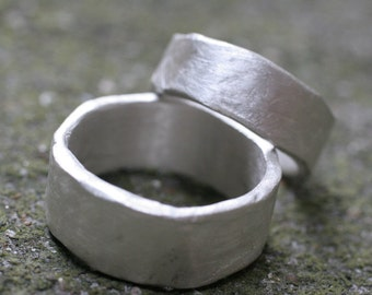 Organic Thick and Wide Bands (2 rings)