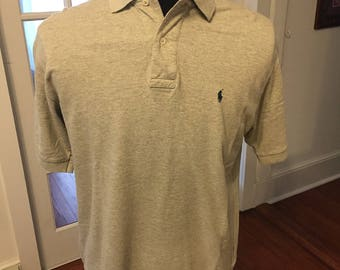 Vintage 90's Polo by Ralph Lauren Gray Polo shirt