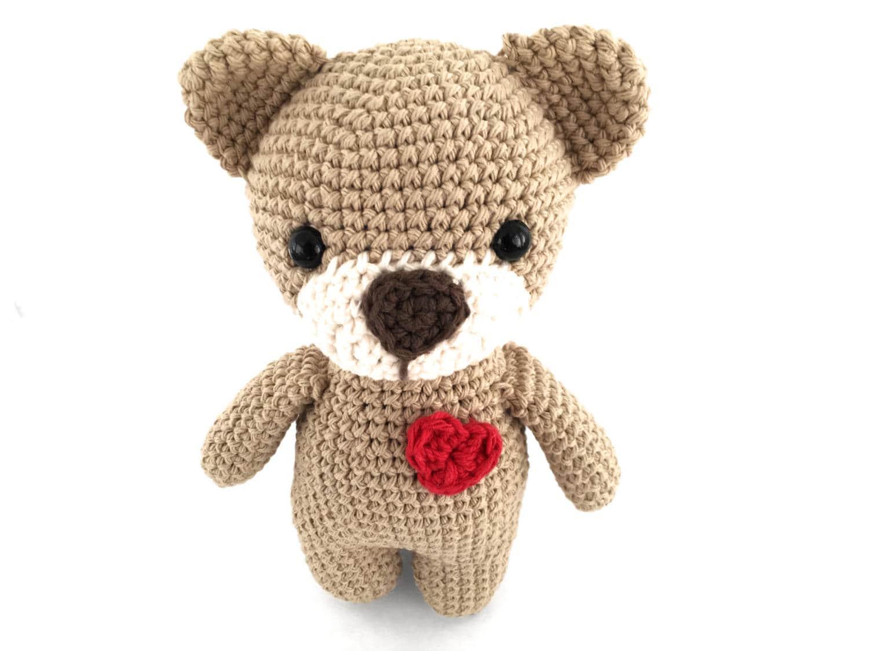 Easy Amigurumi Bear Pattern : Amigurumi crochet teddy bear pattern kawaii easy crochet