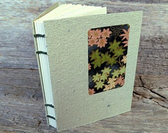 SALE + Free Shipping -- Pocket Journal, pale green