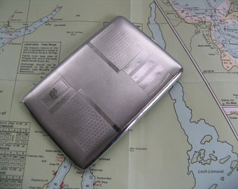 Retro cigarette case for re-enactors