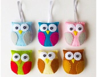 Owl Feltie pdf Sewing Pattern