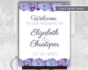Wedding poster welcome sign, wedding printables, large wedding sign, welcome to our wedding, 16x20 welcome sign, wedding poster printable