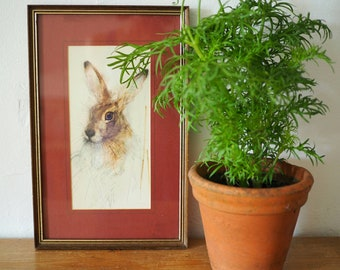 Mads Stage Hare Print