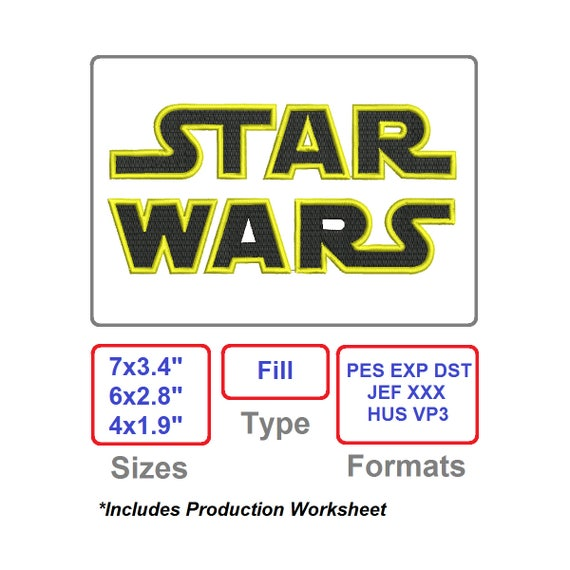 Embroidery Designs Star Wars Embroidery Pattern Disney