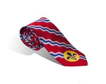 St. Louis Flag Tie