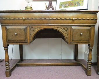 Vintage Imported English Desk or Vanity