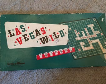 Las Vegas Wild board game, 1954
